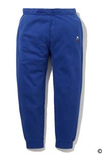 テーパードスウェットパンツ Snoopy Soccer Emb Pant Surf Blue