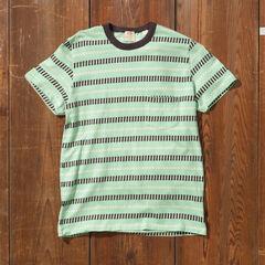 Levi's Vintage Clothing 1960s Striped Tee Shirt 31960: 0047 Mint Stripe Jacquard