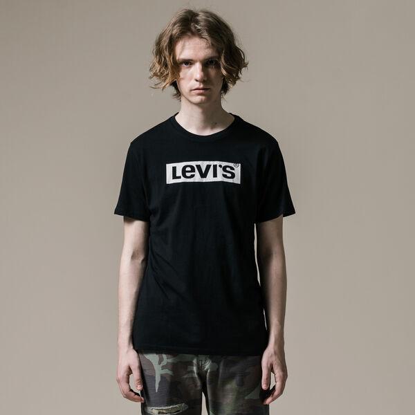 リーバイスロゴTシャツ BLACK GRAPHIC