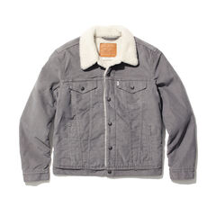 Levi's The Sherpa Trucker Jacket 16365: 0069 Grey