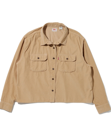 OLSEN UTILITY SHIRT GD ICED COFFEE CORD