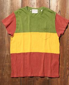 1950'S SPORTSWEAR Tシャツ 3-WAY マルチストライプ