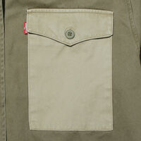 2トーンミリタリーシャツ OLIVE TWILL