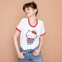 パーフェクトリンガーTシャツ HELLO KITTY BATWING