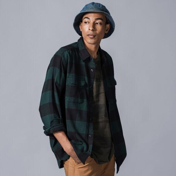 JACKSON ワーカーシャツ BANDURRIA PINE GROVE