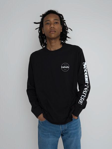 RELAXED LS GRAPHIC Tシャツ MV SSNL LOGO LS C