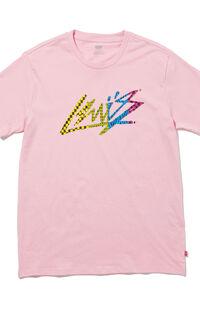 グラフィックTシャツ SSNL WORDMARK CORAL BLUSH