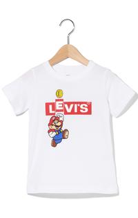 Mario Box Tab Tシャツ(身長90-120cm)