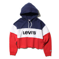 Sports Inspired Levi's® ローカットクロップフーディー COLORBLOCK
