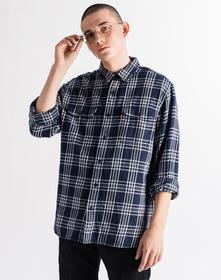 CLASSIC ワーカーシャツ STANDARD AUDEN DRESS BLUE