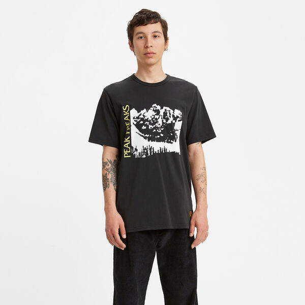 SKATE グラフィックTシャツ LSC LIMELIGHT PEAK