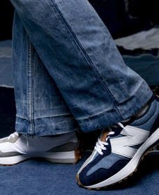 Men's 327 Sneaker (Indigo)