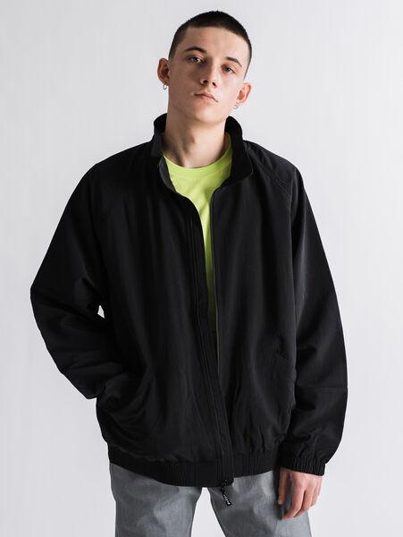 スポーティーフルジップジャケット  MINERAL BLACK