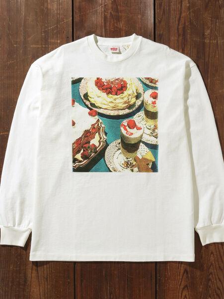 80'S LS GRAPHIC Tシャツ SQUIRREL