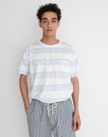 POCKET Tシャツ SALLY STRIPE