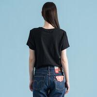 バットウィングロゴTシャツ ブラック