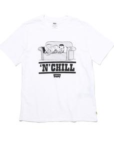 グラフィックTシャツ PEANUTS CHILL