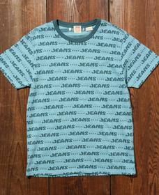 LEVI'S® VINTAGE CLOTHING グラフィックTシャツ JEANS GRAPHIC TEE BLUE MULTI