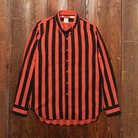 1960'S ボタンダウンシャツ RED BLACK MULTI