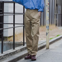 XX CHINO STRAIGHT HARVEST GOLD S CTTN/POLY TWLL