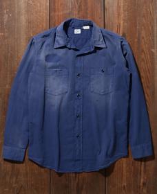 1950S ワークシャツ DUSTY BLUE