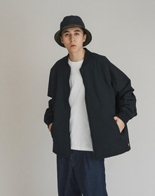 HYDE QUILTED BOMBER CAVIAR