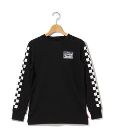 ロングスリーブTシャツ CHECKERED (身長130-150CM)