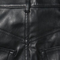FAUX LEATHER RIBCAGE ST LEATHER NIGHT