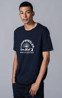 【予約商品】CORE Tシャツ LOOPWHEELER® INDIGO