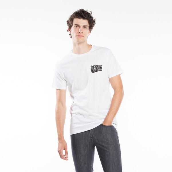 グラフィックTシャツ/LEVISLOGOPERSPECTIVE