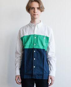 カラーブロックシャツ PACIFIC JELLY BEAN