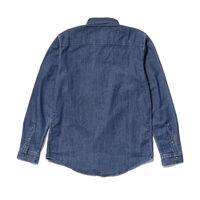スタンダードシャツ FRIDA BLUE PATTERN
