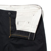 STRAIGHT SHORTS MINERAL BLACK STR POLY TWILL W PRESS