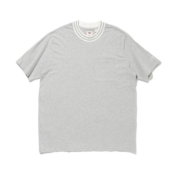リラックスクルーネックTシャツ Eco Gray Heather