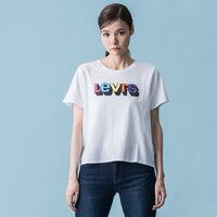 グラフィックTシャツ 3D LOGO WHITE GRAPHIC