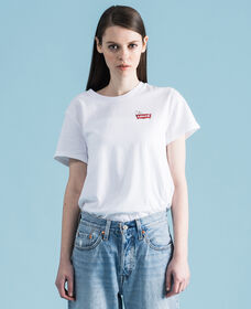 バットウィングロゴTシャツ PEANUTS