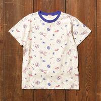 グラフィックTシャツ SPACED ALL OVER CREME BRULEE PRINT