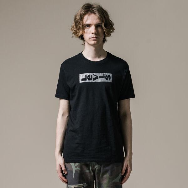 リーバイスロゴTシャツ LAZYTAB PERFORMANCE CAVIAR