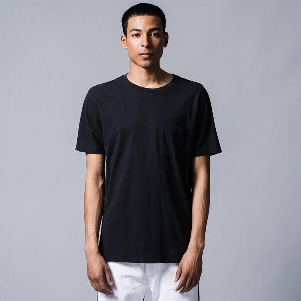 ポケットTシャツ CAVIAR BLACK