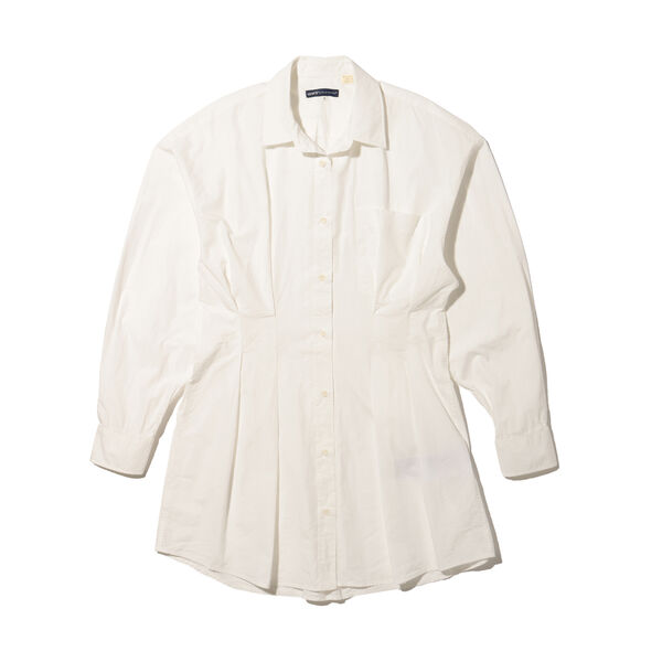 LEVI'S® MADE&CRAFTED® WSTD DAD SHIRT DRESS BRIGHT WHITE