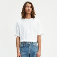 ボックスTシャツ WIDE HEM BRIGHT WHITE