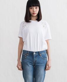 ALICIATシャツ-WHITE