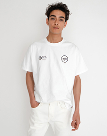 VINTAGE FIT GRAPHIC Tシャツ AMA LC BACK WHITE