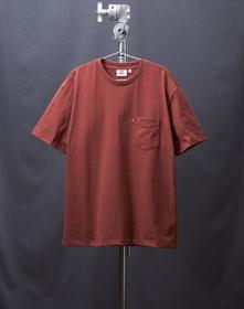 MIU BOXY Tシャツ MADDER BROWN