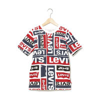 リーバイス総柄ロゴTシャツ (身長130-150cm)