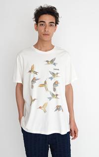 GRAPHIC CREWNECK Tシャツ BI BIRD PHOTO MARSH