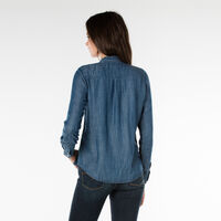 KATYAシャツ-ブルー/AUTHENTIC