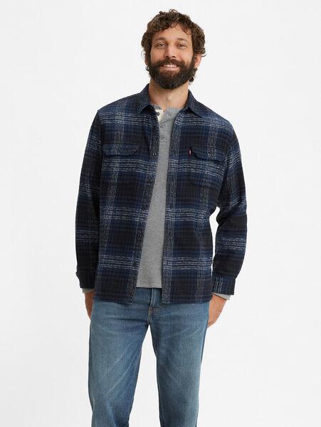 JACKSON WORKER BRAXTON DRESS BLUES PLAID