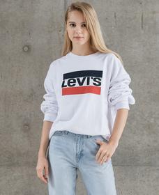 BIGスウェットシャツ SPORTSWEAR LOGO