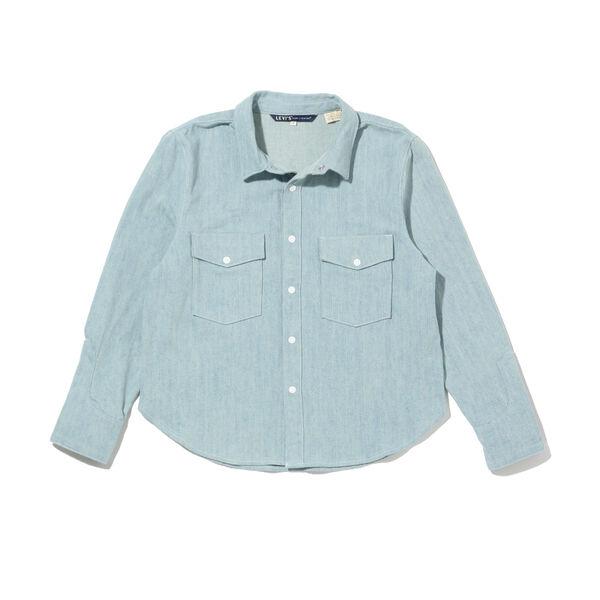 LEVI'S® MADE&CRAFTED® SHRUNKEN デニムシャツ 2 BLUE MESA